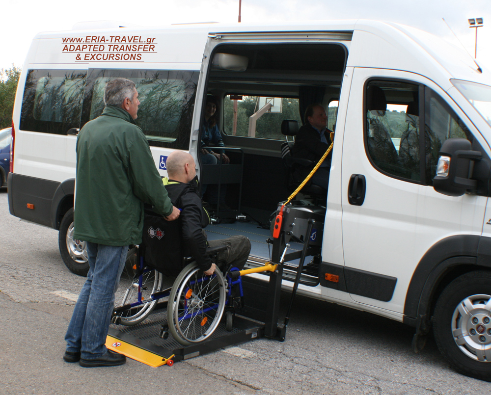 adapted mini bus ducato